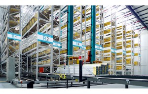Automatic vertical warehouses for finished products